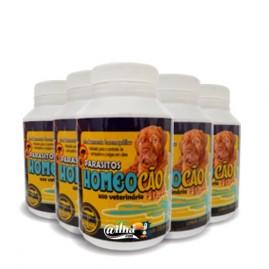 Kit 6 unidades de remédio homeopático contra pulgas e carrapatos - Homeocão